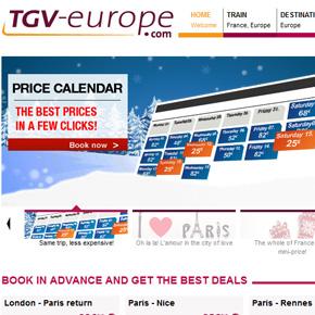 TGVの予約の方法(2012/01)
