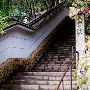 京都市の北へ- 鞍馬寺 -