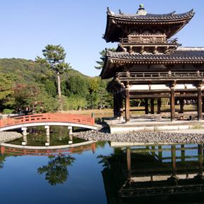 京都、宇治・平等院鳳凰堂
